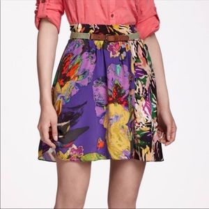 💜ANTHOPOLOGIE💜MAEVE CARRIZZO SILK SKIRT💜